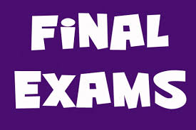 Final Exams (Class 1 to VIII)